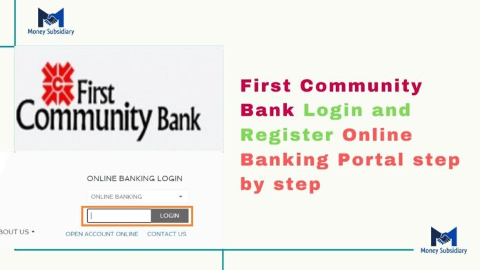 First Community Bank Login and Register