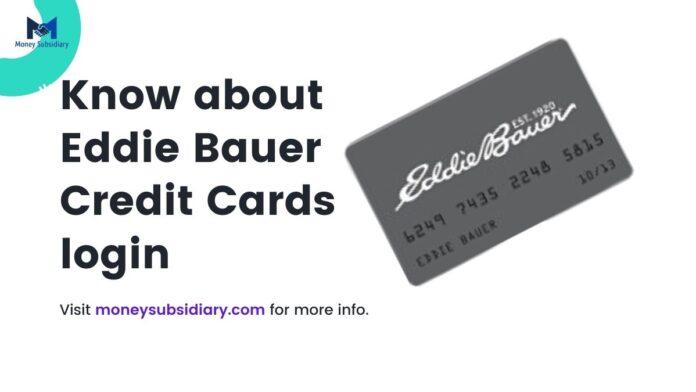 Eddie Bauer Credit Card login