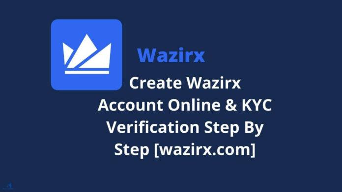 Open wazirx Account1
