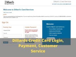 Dillards Credit Card